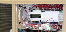 Hatch Air Source Heat Pump internals